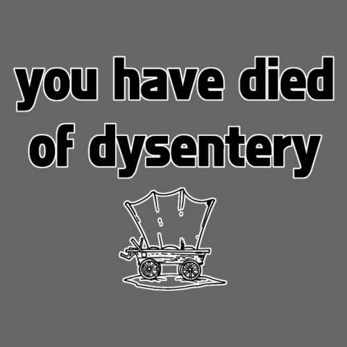You Have Died of Dysentery - Men's Premium T-Shirt