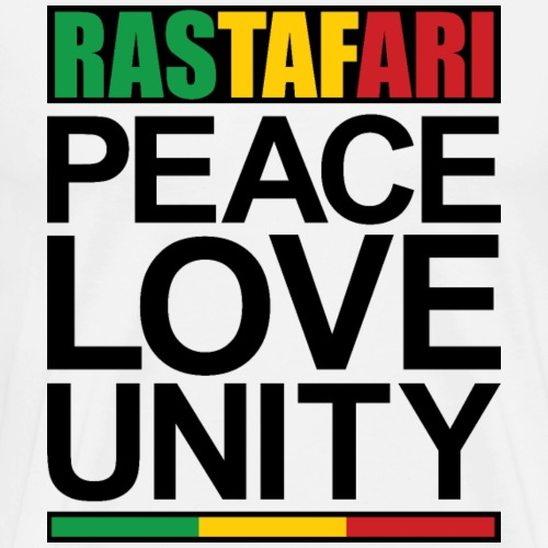 Rastafari Peace Love Unity