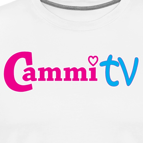 Cammi TV Logo Horizontal - Men's Premium T-Shirt