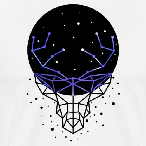 GALACTIC DEER - Men's Premium T-Shirt