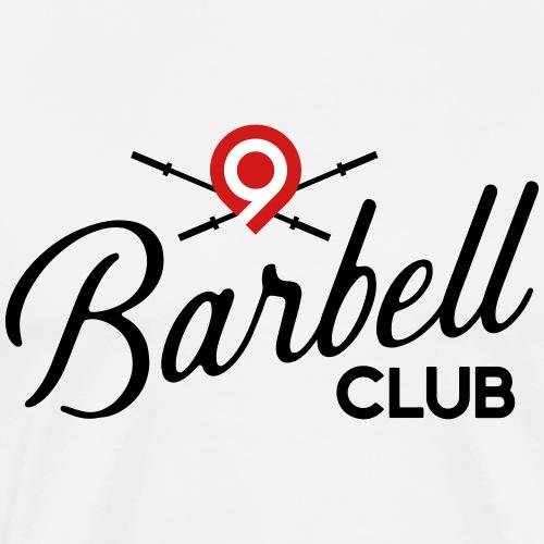 CrossFit9 Barbell Club (Black) - Men's Premium T-Shirt