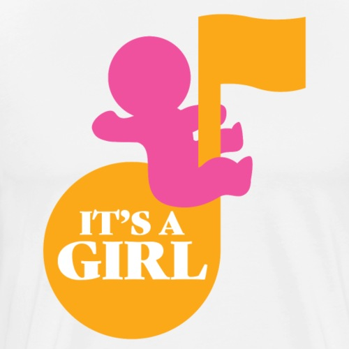 It's a girl - Men's Premium T-Shirt