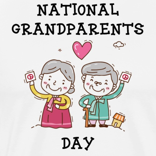 National Grandparents Day - Men's Premium T-Shirt
