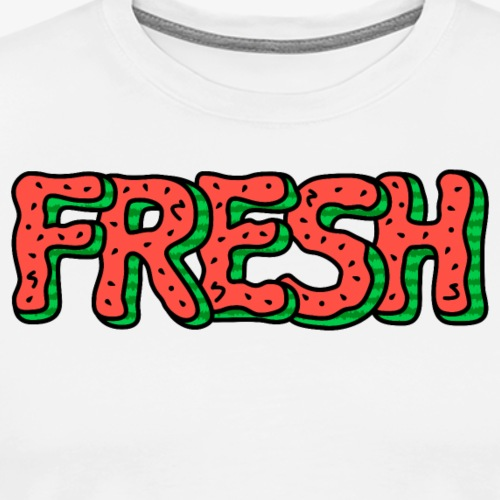 Fresh Watermelon - Men's Premium T-Shirt