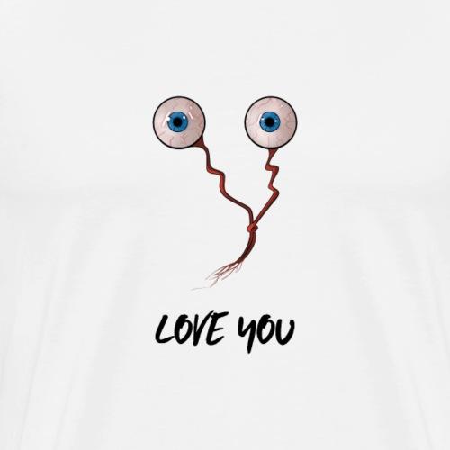 Eye Love You | Funny Love - Men's Premium T-Shirt