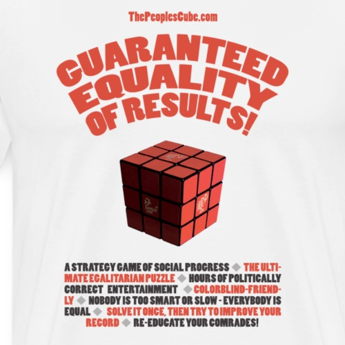 Cube Slogans - Men's Premium T-Shirt