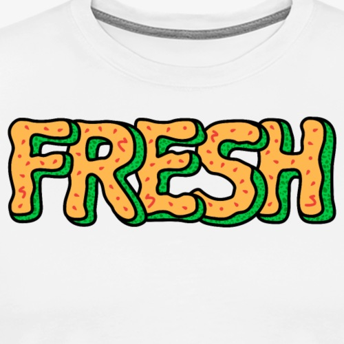Fresh Cantaloupe Melon - Men's Premium T-Shirt