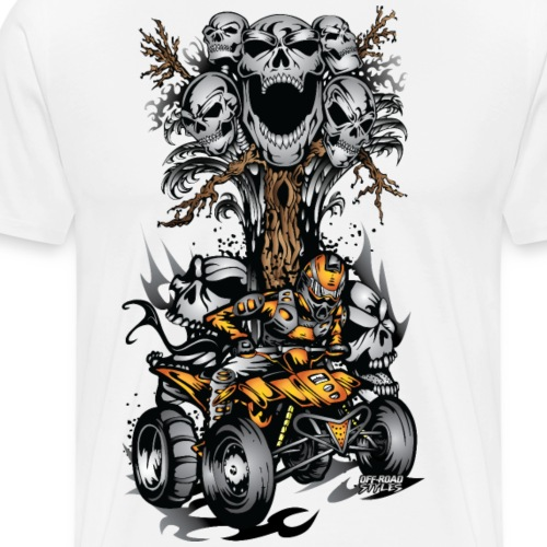 ATV Skulltree Halloween - Men's Premium T-Shirt