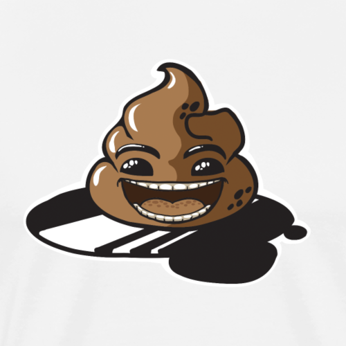Happy Poo - Men's Premium T-Shirt
