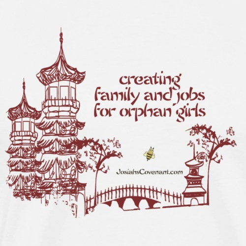 Josiah's Covenant - creating family - Men's Premium T-Shirt