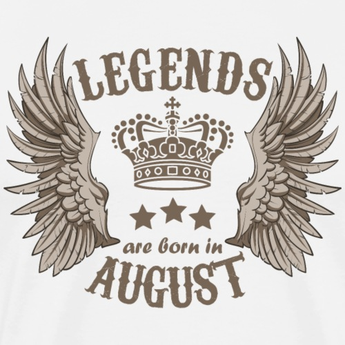 Legends Are Born In August - Men's Premium T-Shirt