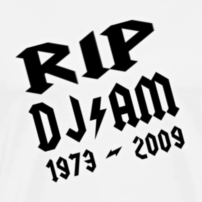 RIP DJ AM LOGO png