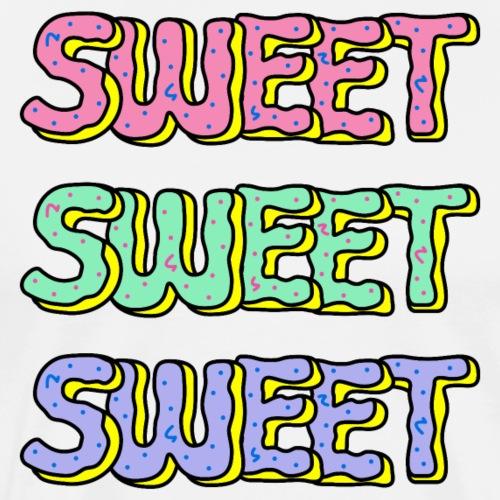Sweet Donuts Pastel - Men's Premium T-Shirt
