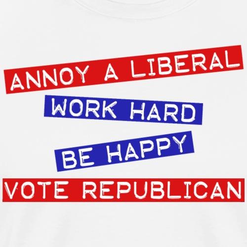 ANNOY A LIBERAL - Men's Premium T-Shirt