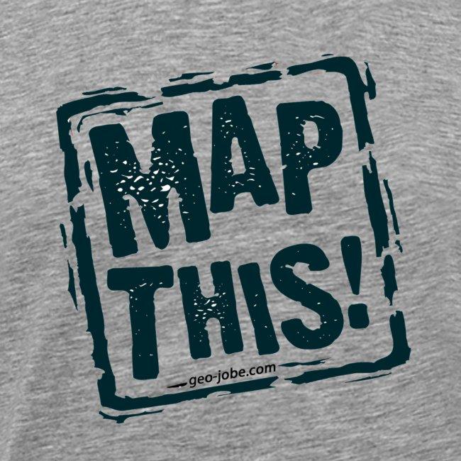 MapThis! Black Stamp Logo