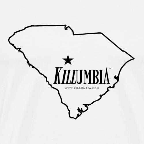 Killumbia Map (Black) - Men's Premium T-Shirt