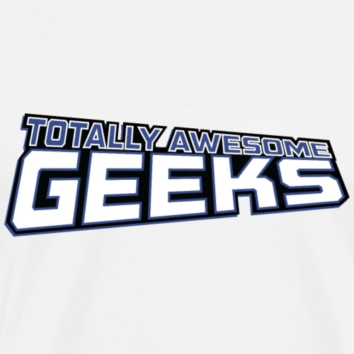 Logo For Totally Awesome Geeks - Men's Premium T-Shirt