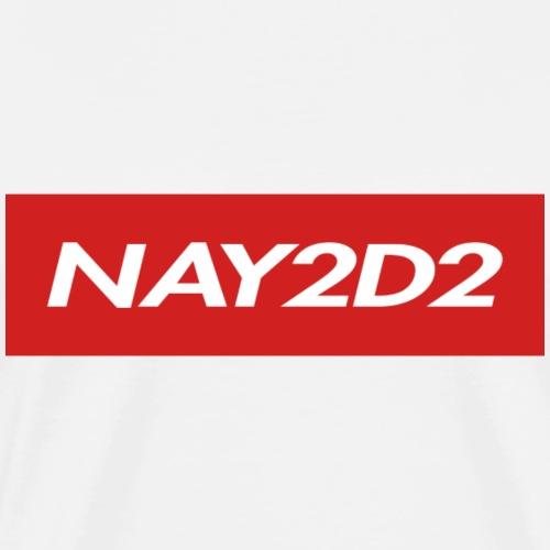 Nay2D2 Logo - Men's Premium T-Shirt