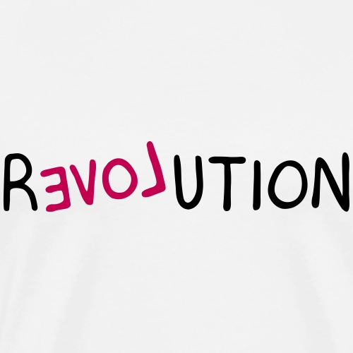 re-LOVE-ution - Men's Premium T-Shirt