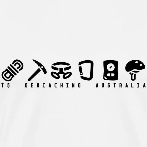 T5 Geocaching Australia - Men's Premium T-Shirt