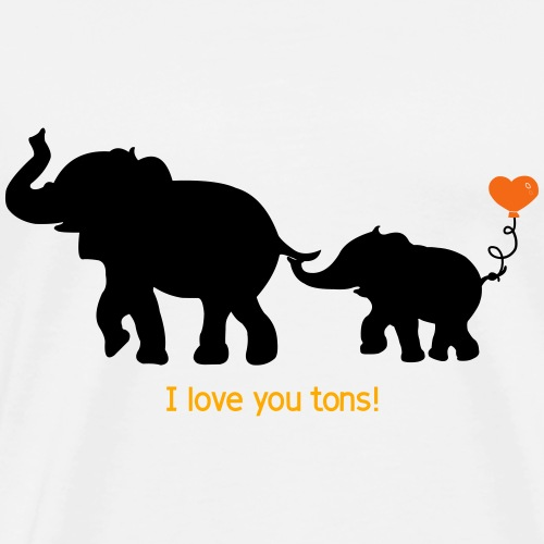 I Love You Tons! - Men's Premium T-Shirt
