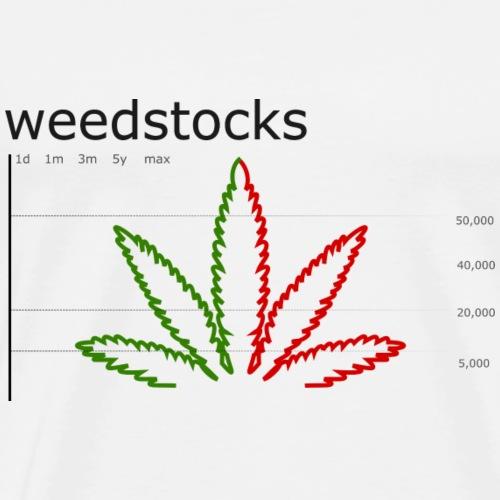 Weed chart - Men's Premium T-Shirt