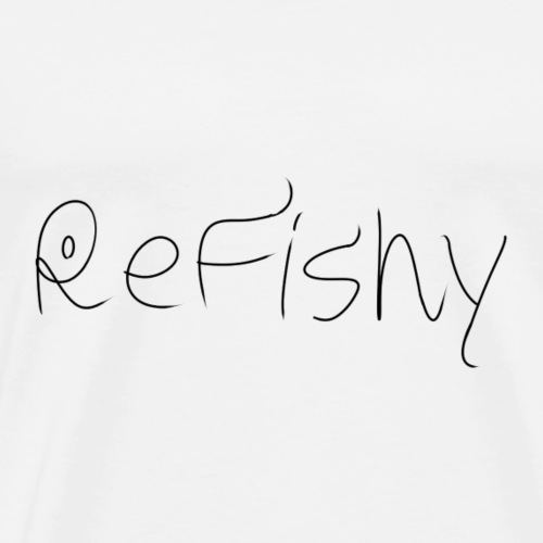 Refishy logo - Men's Premium T-Shirt
