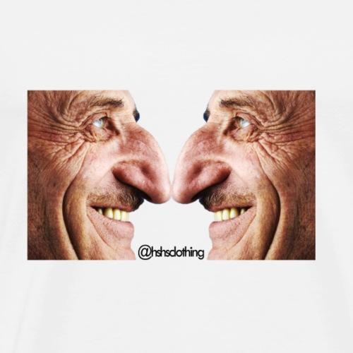 beautiful nose man - Men's Premium T-Shirt