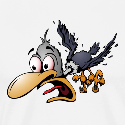 Crazy Bird - Men's Premium T-Shirt