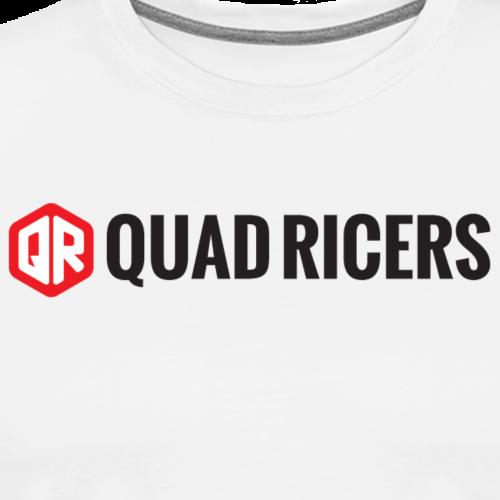 Quad Ricers Clean T-Shirt - Men's Premium T-Shirt