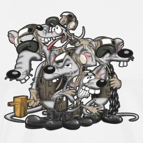 Line Rats - Men's Premium T-Shirt
