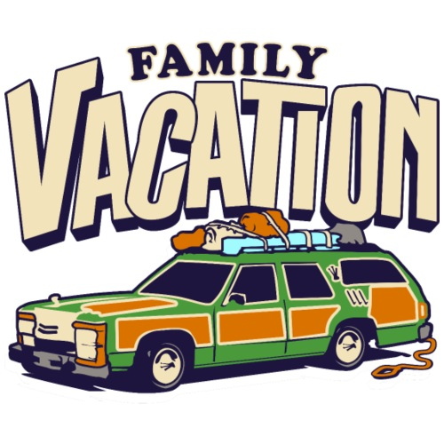 Griswold Road Trip Family Vacation with Truckster - Men's Premium T-Shirt