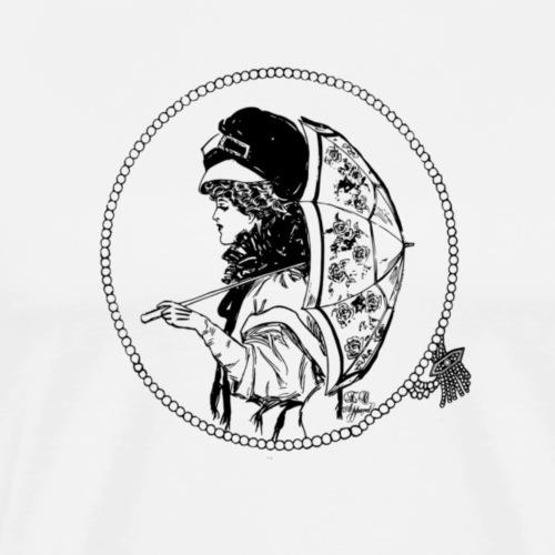 Designer Umbrella - Men's Premium T-Shirt