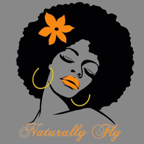 Naturally Fly Afro Diva - Men's Premium T-Shirt