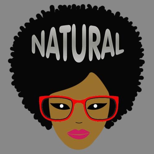 Afro (Red Glasses) - Men's Premium T-Shirt