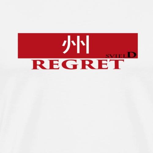 regret label - Men's Premium T-Shirt