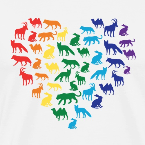 Animal Love - Men's Premium T-Shirt