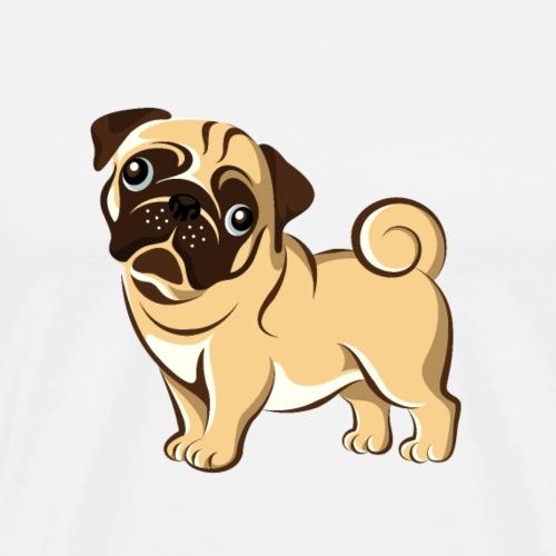 Tyson The Pug - Men's Premium T-Shirt