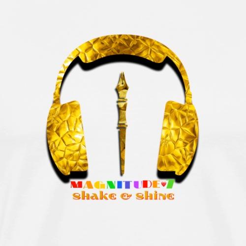 Magnitude 7 Shake And Shine Gold - Men's Premium T-Shirt