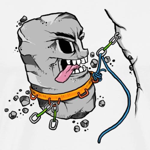 Rock Rock Climbing - Men's Premium T-Shirt
