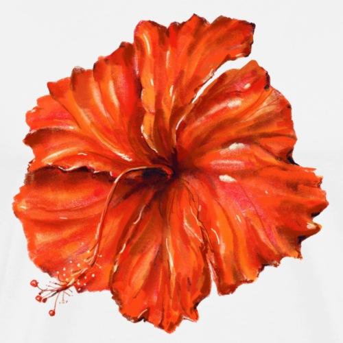 Orange flower - Men's Premium T-Shirt
