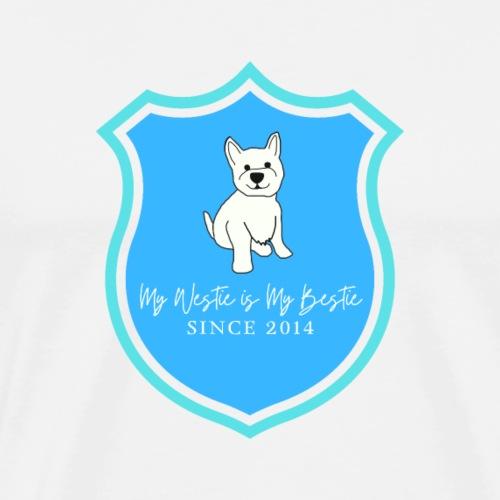 Westie Shield - Men's Premium T-Shirt