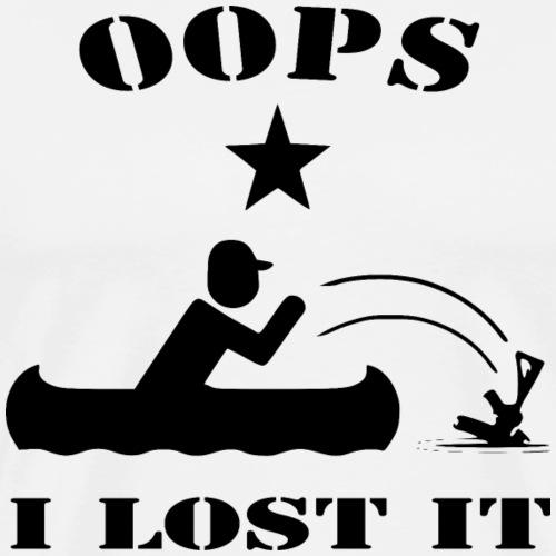 Oops I Lost It #USAPatriotGraphics © - Men's Premium T-Shirt