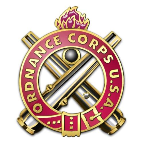 Ordnance Corps Regimental Insignia - Men's Premium T-Shirt