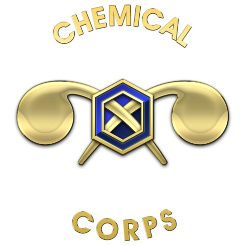 Chemical Corps Branch Insignia - Men's Premium T-Shirt