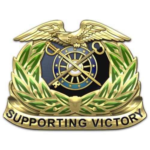 Quartermaster Corps Regimental Insignia - Men's Premium T-Shirt