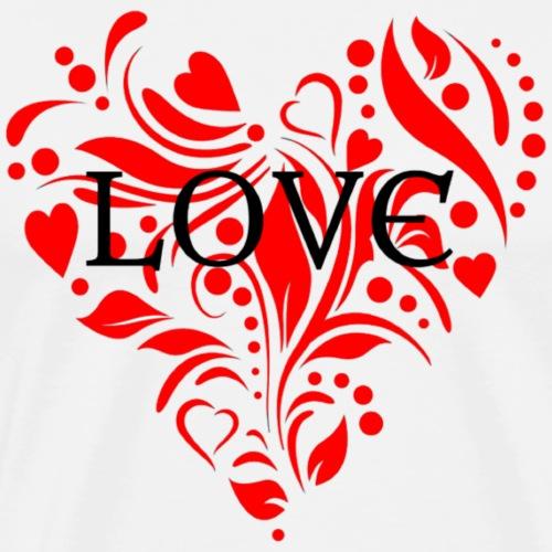 loveheArt - Men's Premium T-Shirt