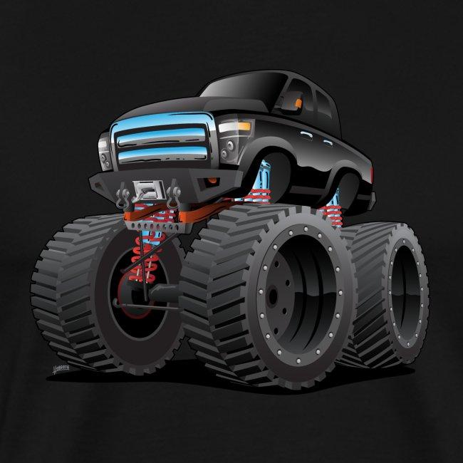 Monster Pickup Truck Cartoon