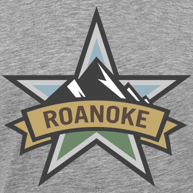 Roanoke Virginia Star City Pride Logo