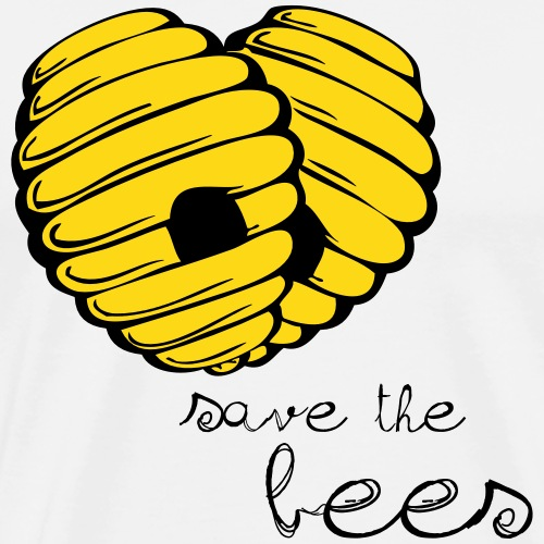 Save the Bees - Men's Premium T-Shirt